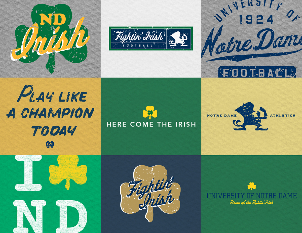 Sports Apparel Design - Moonlight Graham Notre Dame