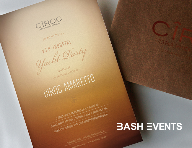 Bash Events Event Branding