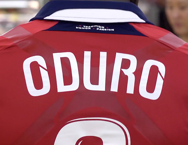 Chicago Fire Player Traits Video -Oduro