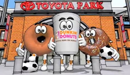 Chicago Fire Dunkin Donuts Sponsorship Game Animation