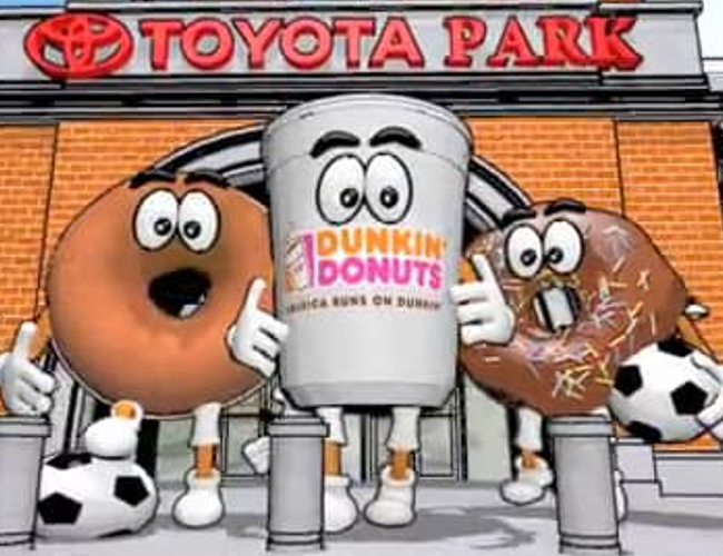 Chicago Fire-Dunkin' Donuts Animation