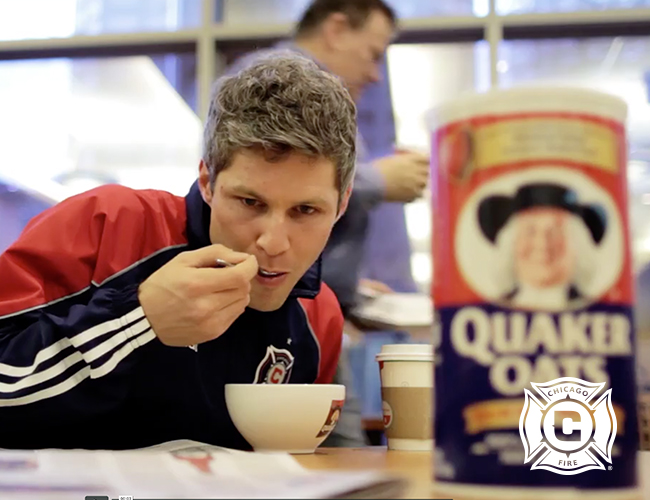 Chicago Fire Quaker Oats Jersey Sponsor Teaser Video