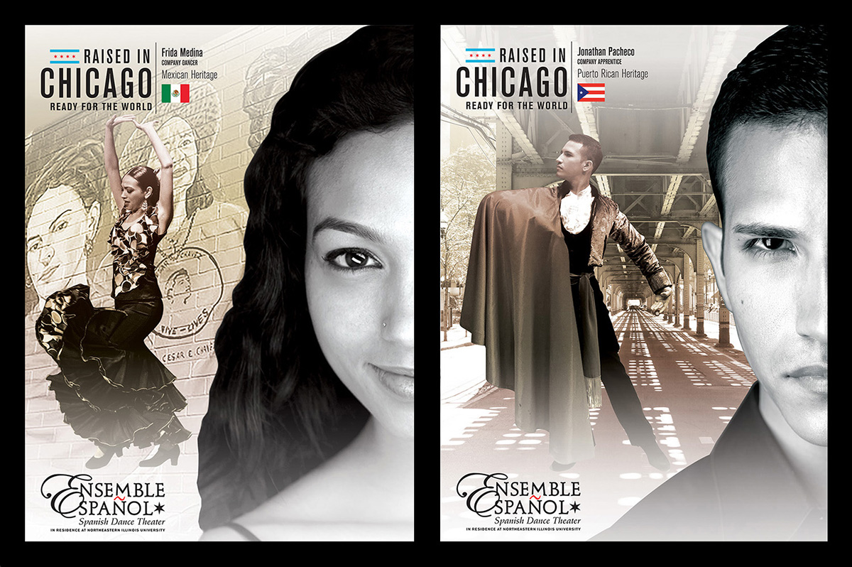 Ensemble Español Raised In Chicago Marketing Campaign