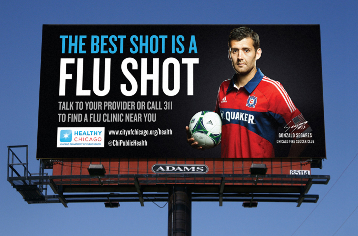 Healthy Chicago Flu Shot Marketing Campaign