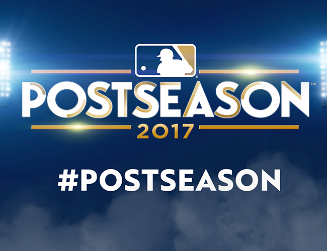 2017 MLB Postseason + World Series Animations