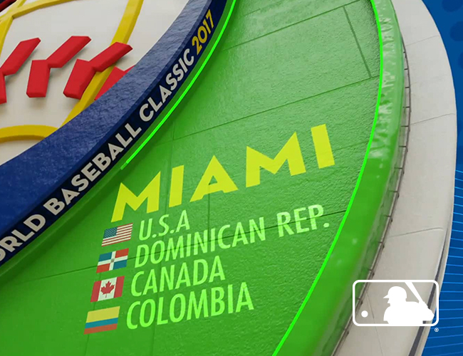 2017 MLB World Baseball Classic Animation