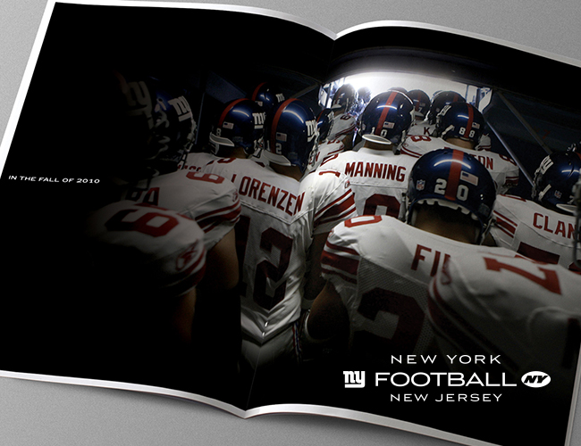 New York Giants Catalog Design