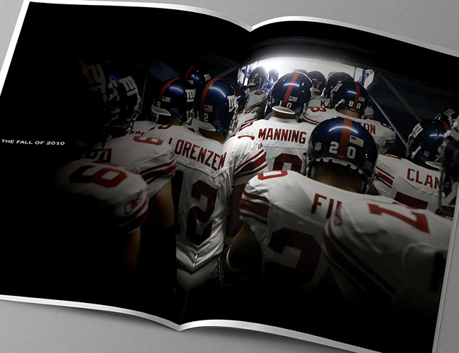 New York Giants + Jets Luxury Brochure