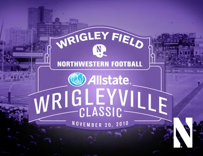 Northwestern University Wrigley Field Football Game Video