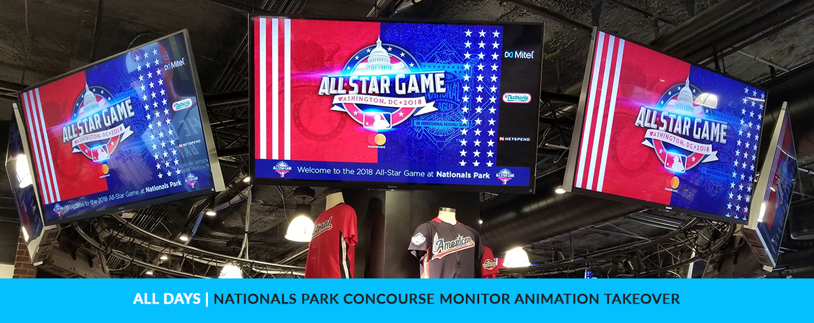 MLB All-Star Game 2018 Animation