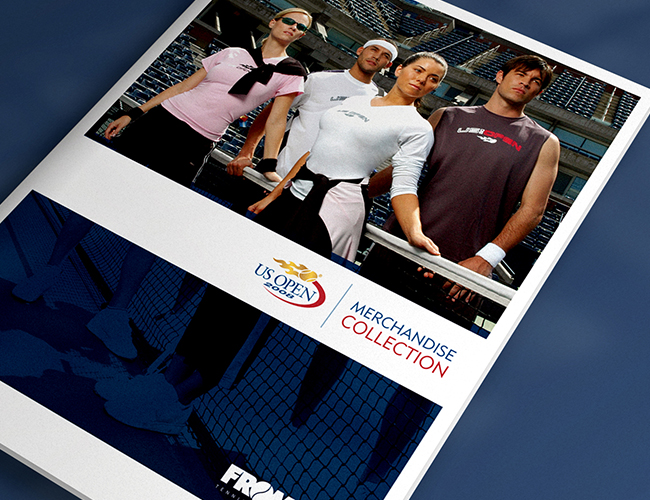US Open Tennis Catalog Design
